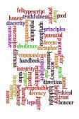 Ethnics language — Stock Photo
