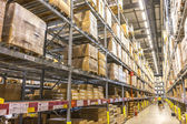 Warehouse storage — Stock Photo