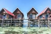 Floating resort — Stock Photo