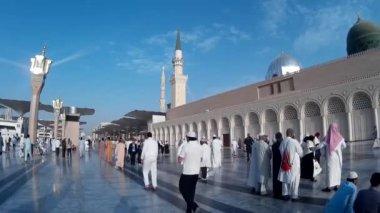 Мечеть nabawi — Стоковое видео