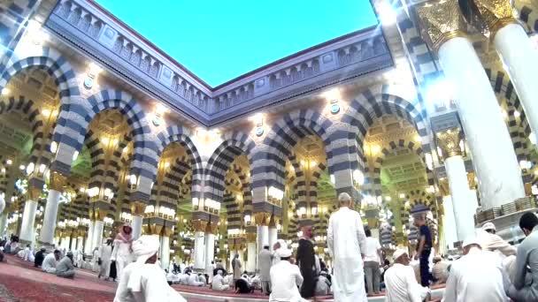 Mezquita Nabawi — Vídeo de stock