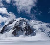 Mont Blanc du Tacul in Chamonix — Stock Photo