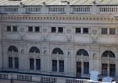 Side view of Lviv Opera Theater — Stock Photo