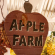 Apple farm sign — Stock Photo #51884577