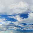 Panoramic sky with clouds. — Stock Photo #58848597
