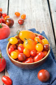 Pomodori colorati. — Foto Stock