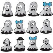 Halloween set — Stock Vector