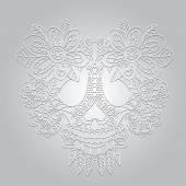 Crâne de mort — Vecteur
