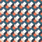 Retro abstract seamless pattern — ストックベクタ
