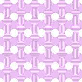 Pattern, stylish polka dot texture — Stock Vector
