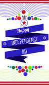 Creative background for  all countries Independence day. — Stock Vector