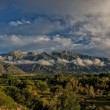 Across the Valley to the Wasatch — Foto Stock