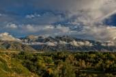 Across the Valley to the Wasatch — Stock Photo