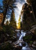 Пятно Осеннее солнце — Стоковое фото