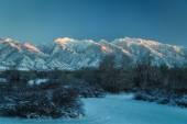 Cold Mountain Tops — Stock Photo