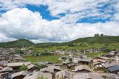 Shangrila, Κίνα - Jul 29 2014: Shangrila παλιά πόλη. ένα διάσημο ορόσημο στην αρχαία πόλη της Shangrila, Yunnan, Κίνα. — Φωτογραφία Αρχείου