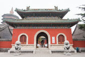 HENAN, CHINA - NOV 29 2014: Tianning Temple. a famous Temple in Anyang, Henan, China. — Stock Photo
