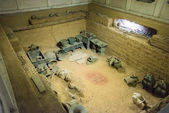 11 月 26 日 2014:tomb 的傅浩贤 ruins(yinxu) 在中国-河南。在安阳,河南,中国著名教科文组织世界遗产. — 图库照片