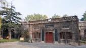 河南省-2014 年 11 月 20 日: 钱其琛唐志寨博物馆。在洛阳,河南,中国著名的历史古迹. — 图库照片