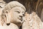 LUOYANG, CHINA - NOV 13 2014: Longmen Grottoes. UNESCO World heritage site in Luoyang, Henan, China. — 图库照片