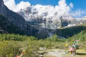 SICHUAN, CHINA - JUL 24 2014: Yading Nature Reserve. a famous landscape in Daocheng, Sichuan, China. — Stock Photo
