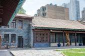XINING, CHINA - Jul 10 2014: MA BUFANG'S OFFICIAL RESIDENCE(Ma Bufang Gongguan). a famous landmark in the Ancient city of Xining, Qinghai, China. — Stock Photo