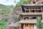 PINGAN, CHINA - Jul 9 2014: Shazong Ritod Monastery(Xiazongsi). a famous Monastery in Pingan, Qinghai, China. — Stock Photo