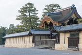 京都,日本-2015 年 1 月 11 日: 京都御苑花园。一个著名的历史遗址在古代城市京都,日本. — 图库照片