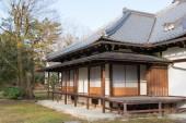 Kyoto, Japonya - jan 11 2015: kan-içinde-no-miya residence sitesi kyoto gyoen Bahçe. ünlü bir ören kyoto Antik şehir, Japonya. — Stok fotoğraf