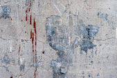 Aged grunge abstract concrete texture with dents and cracked — Stock Photo