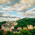 Panorama View  Kyiv, Ukraine landscape — Stock Photo #79115440
