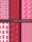 Sweet Valentine's Day Seamless Pattern. — Διανυσματικό Αρχείο
