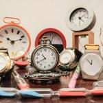 Many different Clocks — Stock Photo #55919543