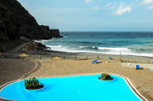 Blue Swimming Pool — Stock Photo
