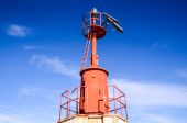 The Red Steel Lighthouse — Foto de Stock