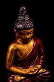 Oriental Buddist Statue Isolated — Foto Stock