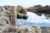 Estatua maya — Foto de Stock