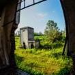 Abandoned Old Ruined Industrial Plant — Stock Photo #55985929