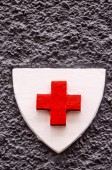 Red Cross Medical Sign — Foto de Stock
