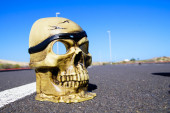 Road Death Concept — Foto de Stock