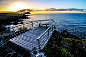 Molo di alba — Foto Stock