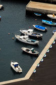 Aereial View of Boats — Stockfoto