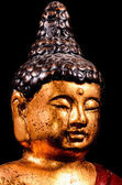 Oriental Buddist Statue Isolated — 图库照片