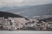 Los Cristianos Ocean Town — Zdjęcie stockowe