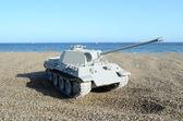 Gray Tank Model — Stockfoto