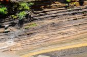 Dry Hardened Volcanic Lava — Stock Photo