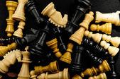 Chess texture — Stock Photo