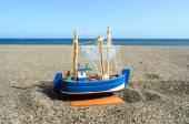 Sail Ship Toy Model — Stock fotografie