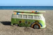 Detail of a Hippe Van — Fotografia Stock