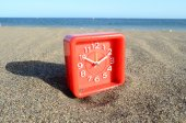 Time And Sea Concept — Stock Photo